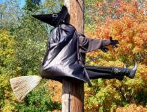 Halloween - czarownica
